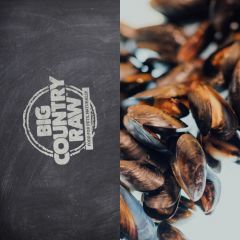 """Big Country """"Thrive"""" Green Lipped Mussel 160g 